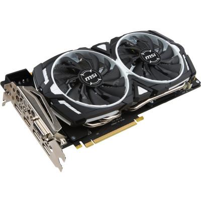 MSI GeForce GTX 1080 Armor 8G OC 8GB GDDR5X Grafikkarte für ~420€ (Finanzierung)