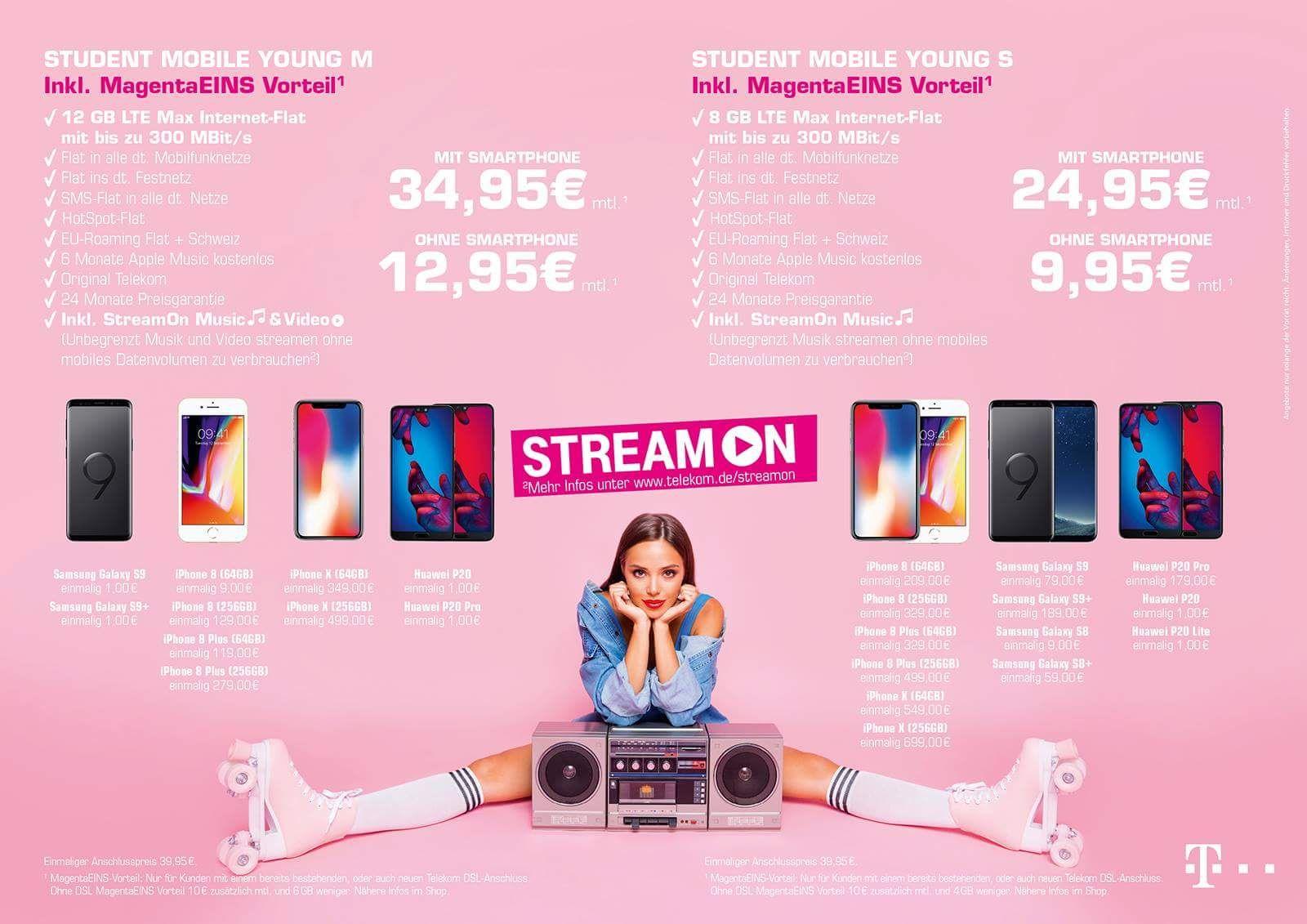 (KÖLN/BOCHUM) Telekom&Vodafone Junge Leute mit GigaKombi MagentaEinsVorteil