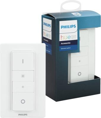 Philips Hue Dimmschalter Doppelpack (~16,56€ / Schalter) & Philips Hue Bewegungssensor Doppelpack für 57,05€ statt 65€ (12% Ersparnis)@Amazon UK