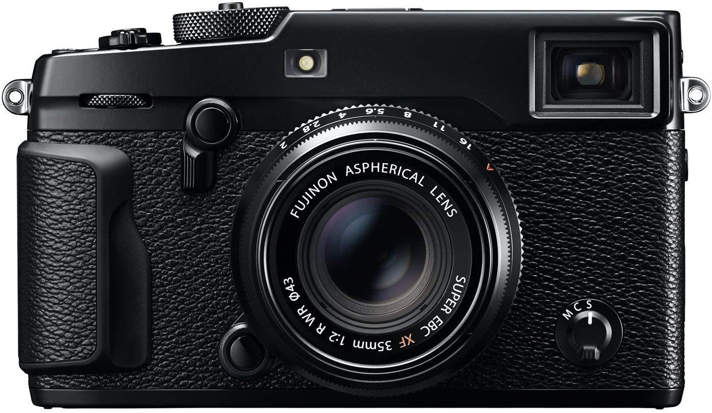 Fujifilm X-Pro2 Systemkamera inkl. Fujinon XF35F2 Objektiv Schwarz