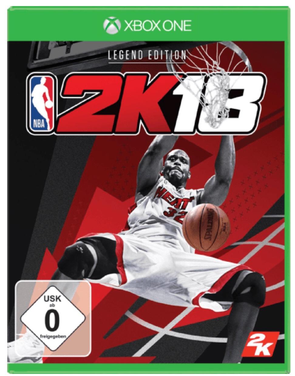 Lokal Saturn Bielefeld Xbox One NBA 2K18 Legend Edition