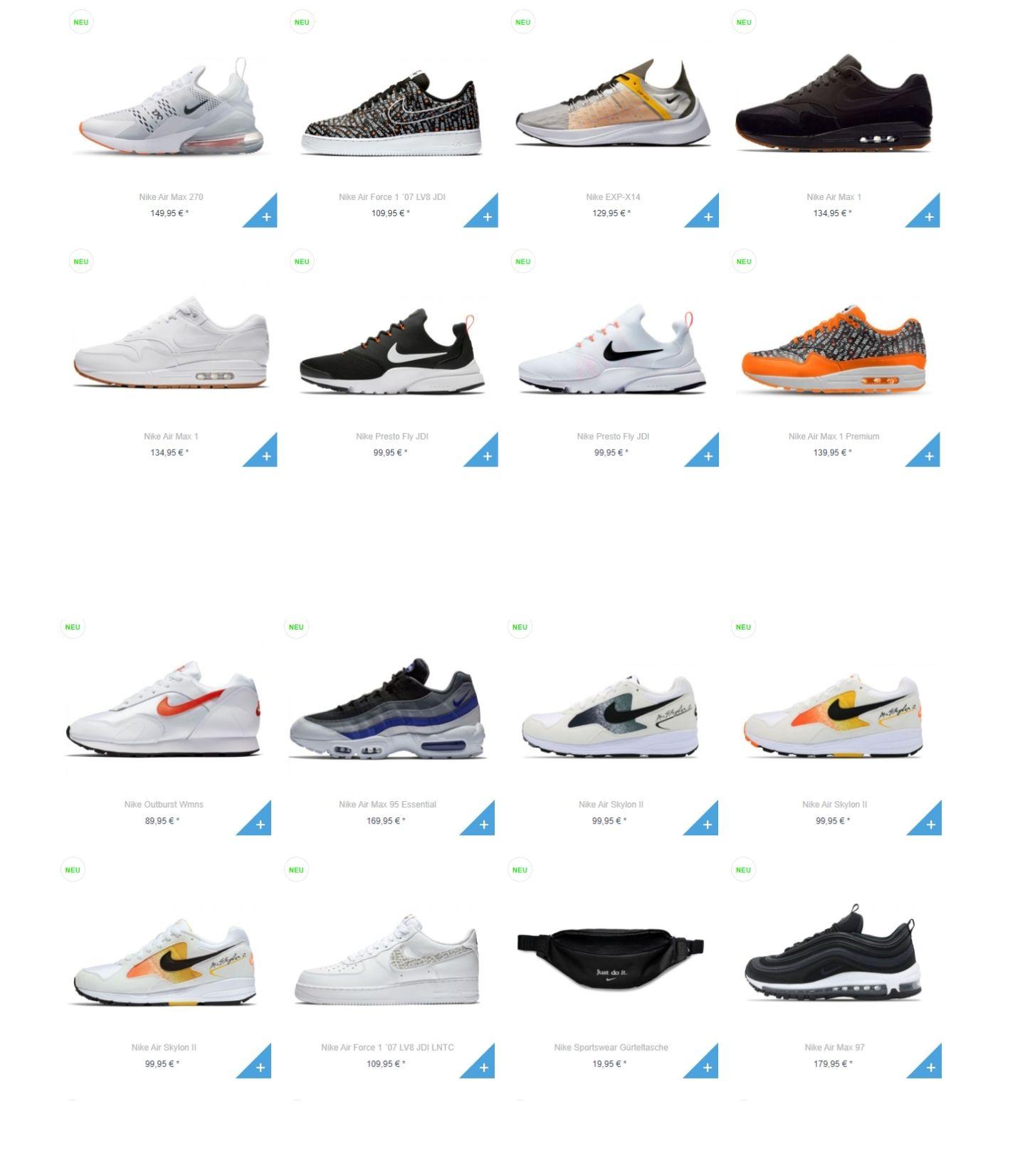 Beim Fortytree-Store gibt es20% auf ALLE Nike-Produkte auch Sale!