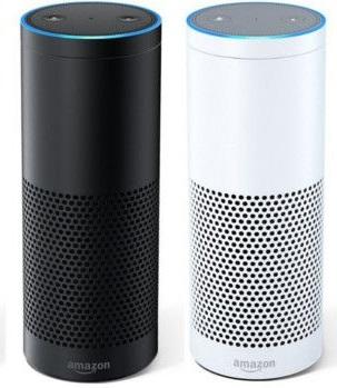 Amazon Echo, Zertifiziert und generalüberholt, in weiß oder schwarz (Vorherige Generation) [amazon]