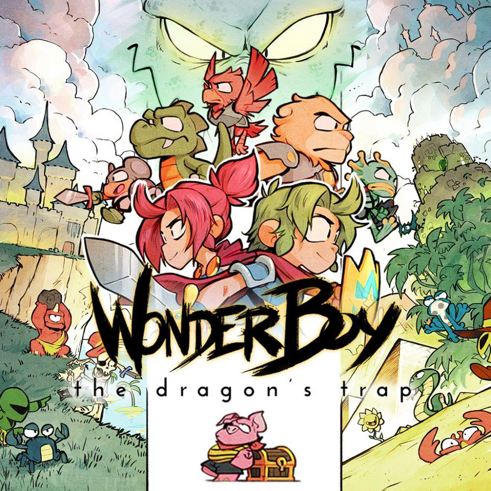 (Amazon.com) Wonder Boy The Dragons Trap PS4 20,98 Euro