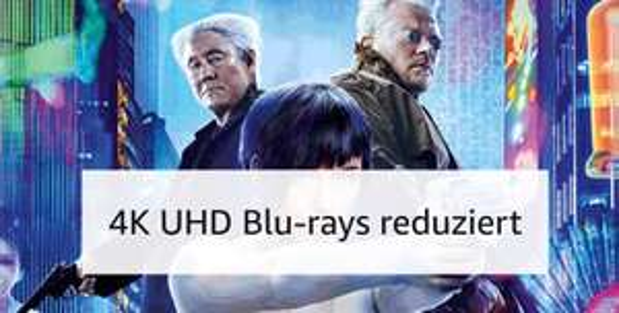 Amazon 7 Tage Tiefpreise auf 4K blu Rays.