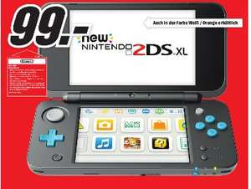 [Regional Mediamarkt Osnabrück-Belm] Nintendo New 2DS XL schwarz-türkis oder weiß-orange für je 99,-€