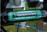 [Lokal Frankfurt Ginnheim] Kostenlose Fahrradcodierung am 11. August von 13-16 Uhr