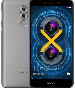 "[saturn] Honor 6X - 5,5"" Full HD Dual-SIM Smartphone (IPS/LTPS, Kirin 655 Octacore, 3GB RAM, 32GB eMMC, 12/8MP, 3340mAh, Quick Charge, Android 7) in grau oder gold"