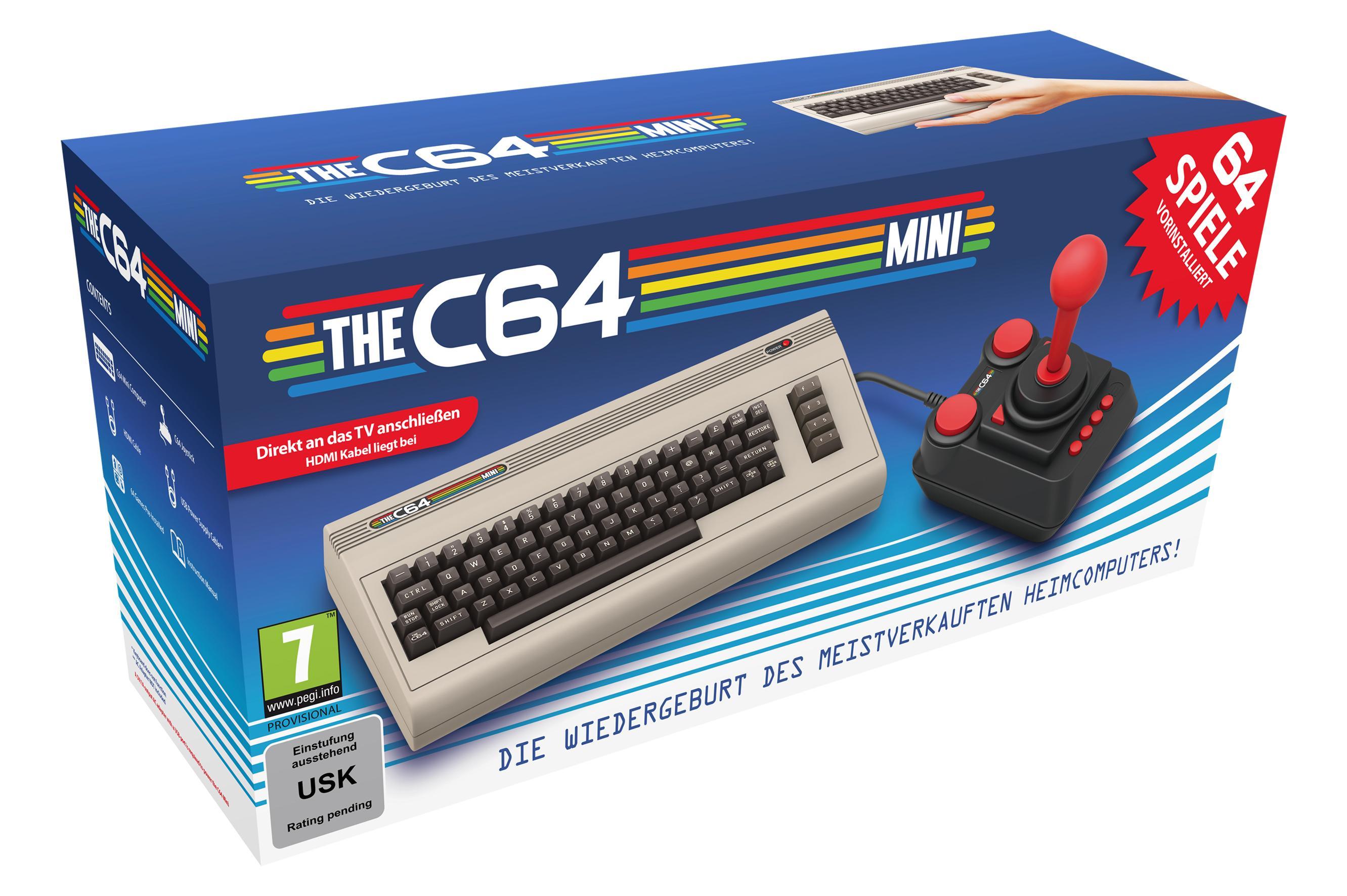 The C64 Mini für 49,99€ (Müller)
