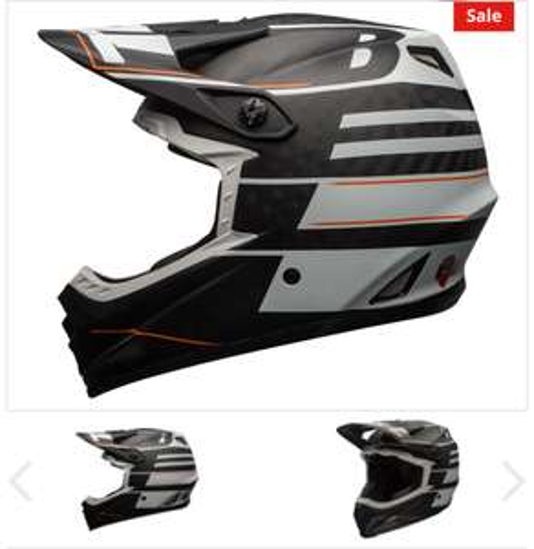 Helm Bell Full 9 Carbon  (499 UVP) Downhill
