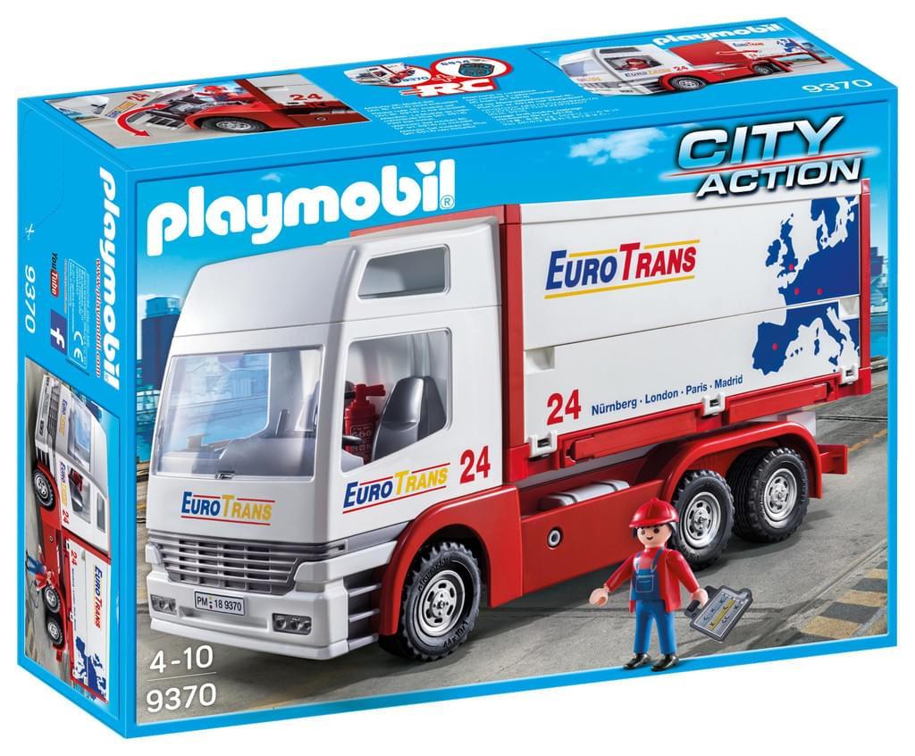 Playmobil™ - City Action: Euro Trans Lastwagen (9370) für €17,77 [@Real.de]