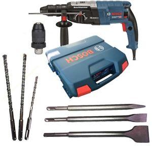 Bosch Bohrhammer GBH 2-28 F mit Koffer +3 Bohrer +3 Meißel [ebay]