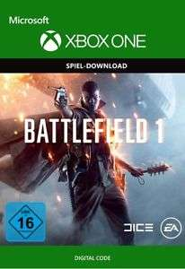 Battlefield 1 (Xbox One Digital Code) für 13,95€ (eBay)