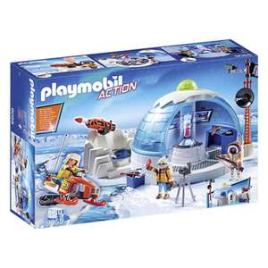 Playmobil™ - Action: Polar Ranger Hauptquartier (9055) für €13,77 [@Real.de]