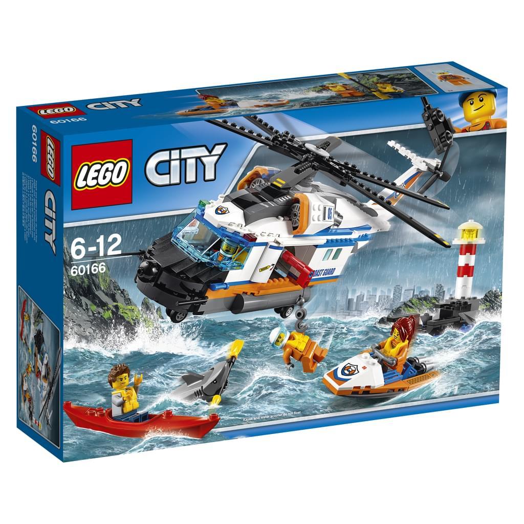 Lego City - Seenot Rettungshubschrauber - 60166 (real.de)