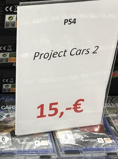 [Lokal im Saturn - Leipzig Hauptbahnhof] Project Cars 2 PS4