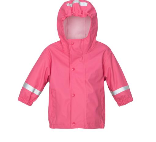 2 Regenjacken + Regenhose in rosa oder blau, Gr. 74 - 104 inkl. VSK bei [windeln.de] 4,66€ pro Teil