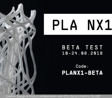 Extrudr 3D Drucker PLA NX1 Beta Test - 1 KG Rolle für 10,89 Euro + 4,50 Versand
