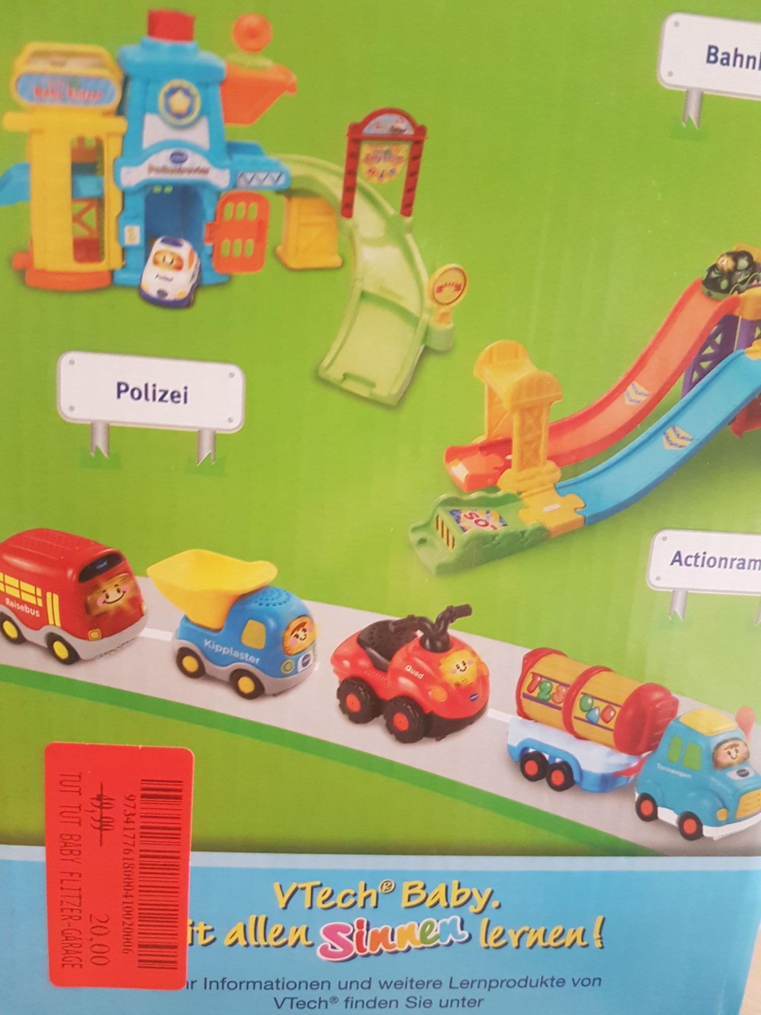 Marktkauf Wörth: Tut Tut Babyflitzer Parkgarage für 20 Euro