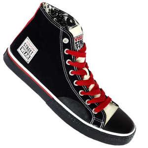 Vision Street Wear Schuhe Canvas Hi Skaterschuhe Gr. 45,46,47 für 10,99€ @ Ebay