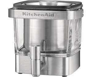 Kaffeetrinken mit Saturn: z.B. KitchenAid Artisan Coldbrew-Kaffeebereiter (12 bis 24 Stunden Extraktionszeit, 1.4 Liter, auch für Teekonzentrat, Edelstahl und Glas)