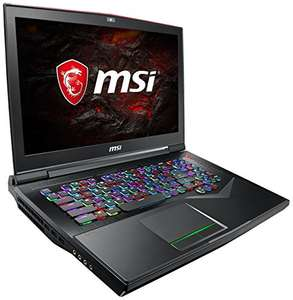"MSI GT75VR 7RF-033 Titan Pro, 17,3""/4K, Intel Core i7-7820HK, 32GB RAM, 512 GB PCIe SSD + 1 TB HDD, GeForce GTX 1080, Windows 10 Home für 2777€"
