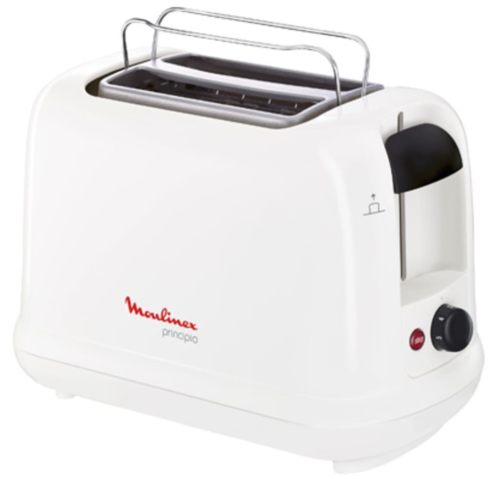 "Moulinex™ - Toaster ""Principio LT1611"" (850Watt,Weiß) für €17,77 [@Real.de]"