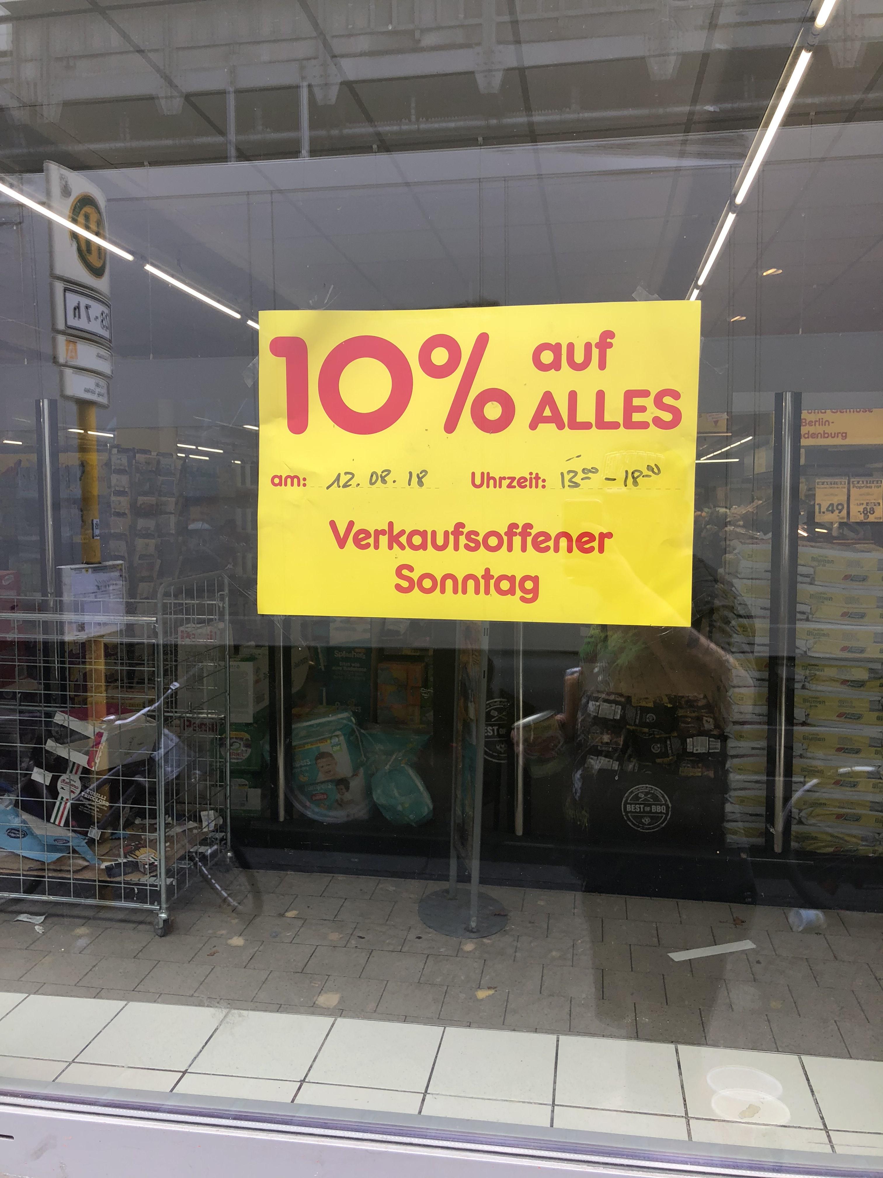 [Lokal] Berlin Netto MD 10% auf alles