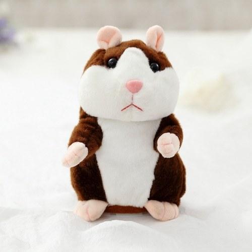 [TomTop] sprechender Plüsch Hamster (spricht alles nach)