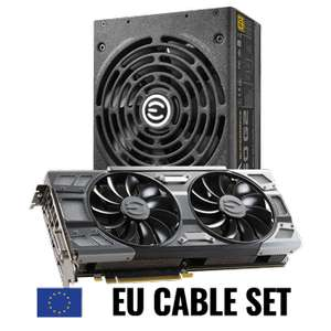 EVGA GeForce GTX 1080 FTW GAMING + EVGA SuperNOVA 850 G2 Power Supply (EU Cable Set)