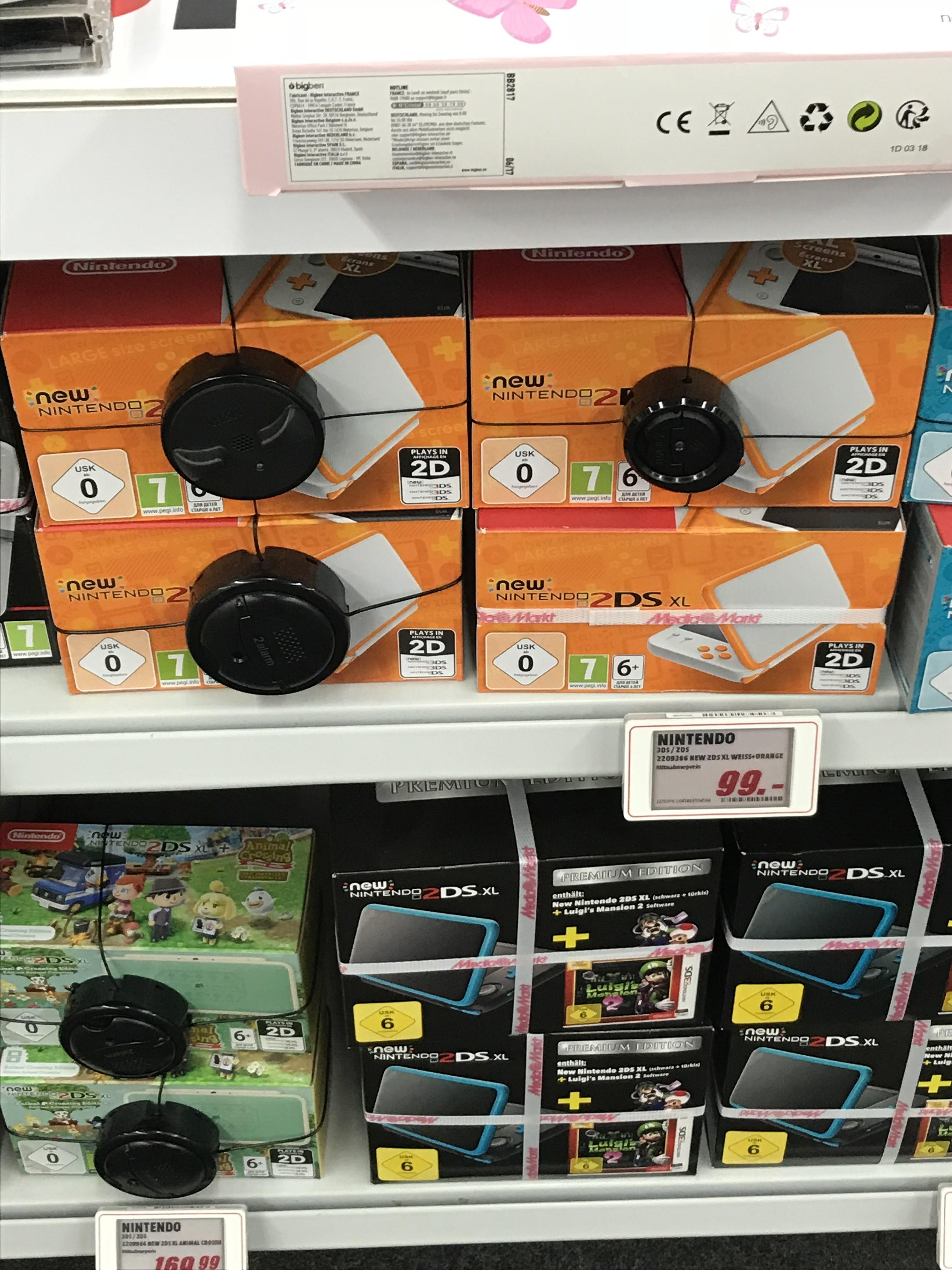 [Lokal MM Do-Oespel/Indupark] New Nintendo 2DS XL Orange/Weiß für 99€