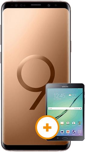 """Samsung Galaxy S9 inkl. Galaxy Tab S2 WiFi (9,7"""") im Vodafone Smart L Plus (eff. für 10,02€ / Monat bei Hardware-Verkauf) *UPDATE*"""