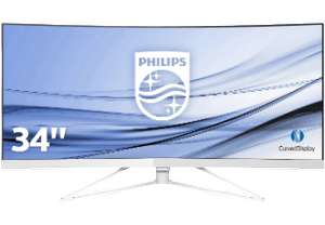 "Philips 349X7FJEW UWQHD 34"" Monitor (3440x1440)"