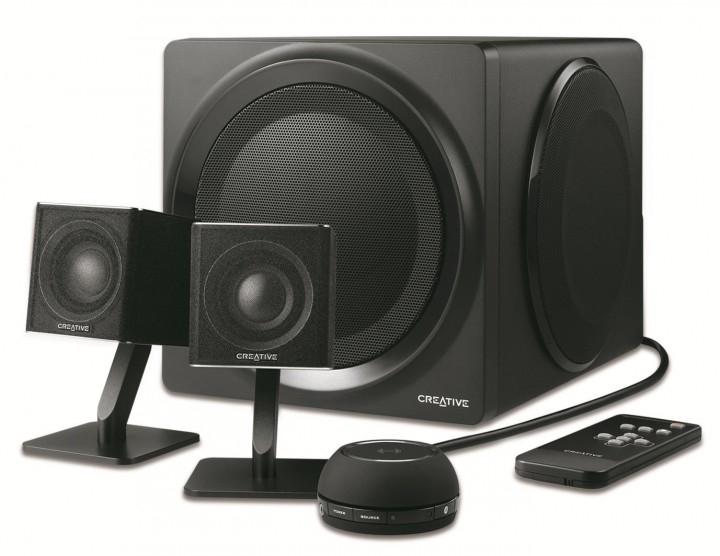 Creative T4 Wireless 2.1 Kanäle Schwarz Lautsprecherset
