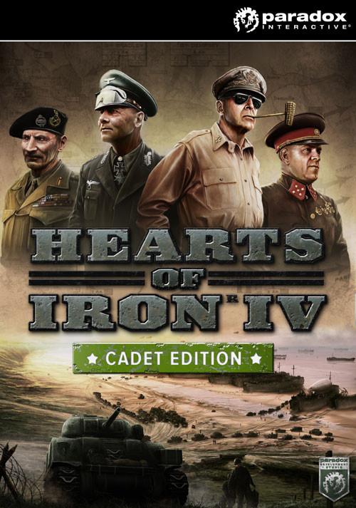 Hearts of Iron IV: Cadet Edition [Steam - De Version]