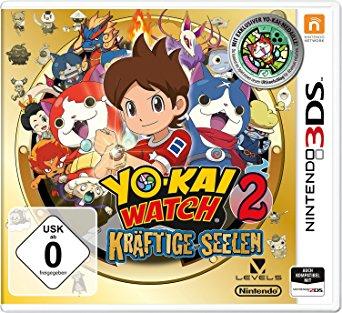 [Lokal Lippstadt] YO-KAI WATCH 2: Kräftige Seelen inkl. Medaille für den Nintendo 3DS