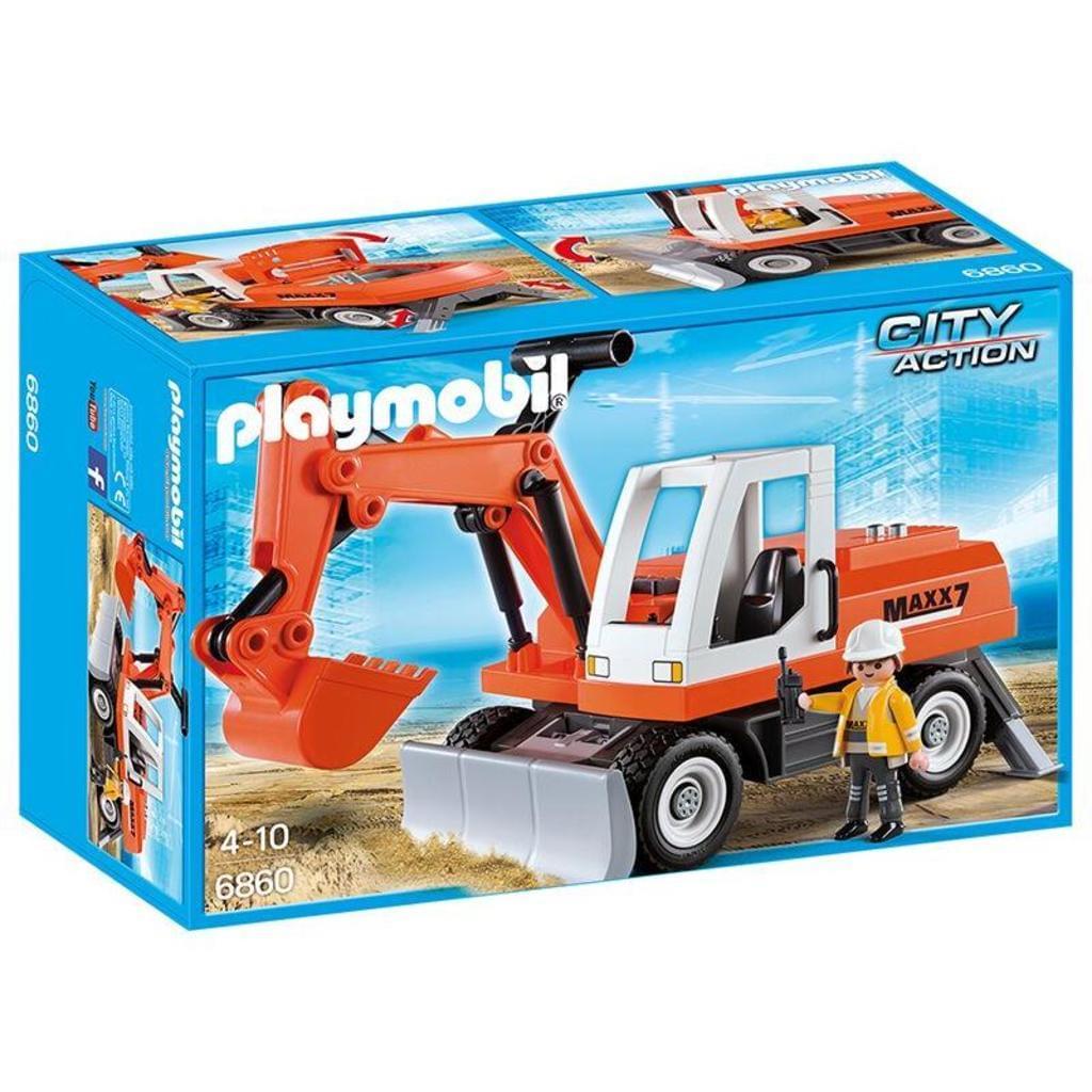 (REAL) Baggern wie die Profis - mit dem Playmobil Bagger