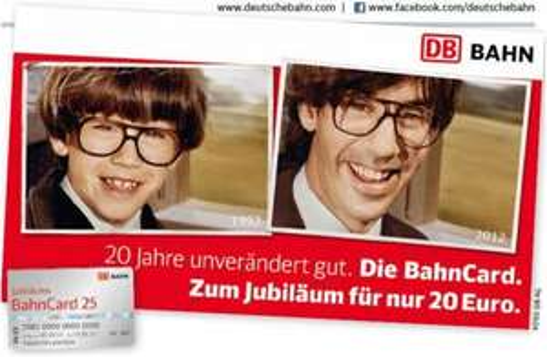 Jubiläums-Bahn- Card 25 [4 Monate gültig]