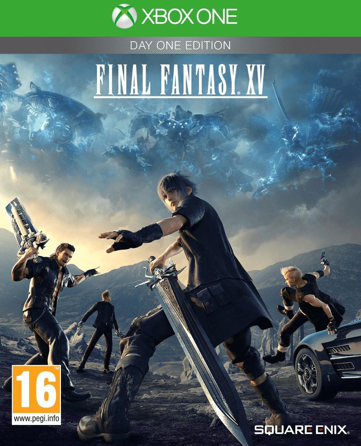 Final Fantasy XV Day One Edition (Xbox One) für 13,56€ (Amazon IT)