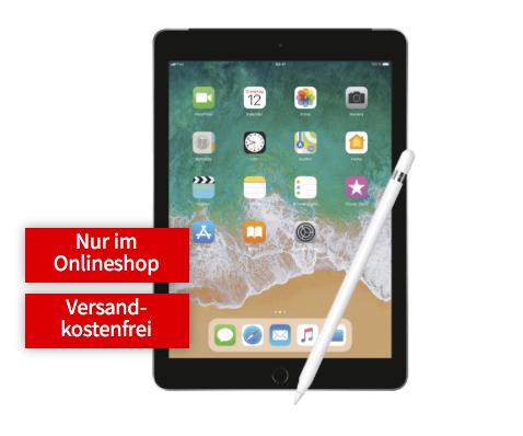 Apple iPad 2018 Wifi+Cellular + Pencil, Media Markt [Online]