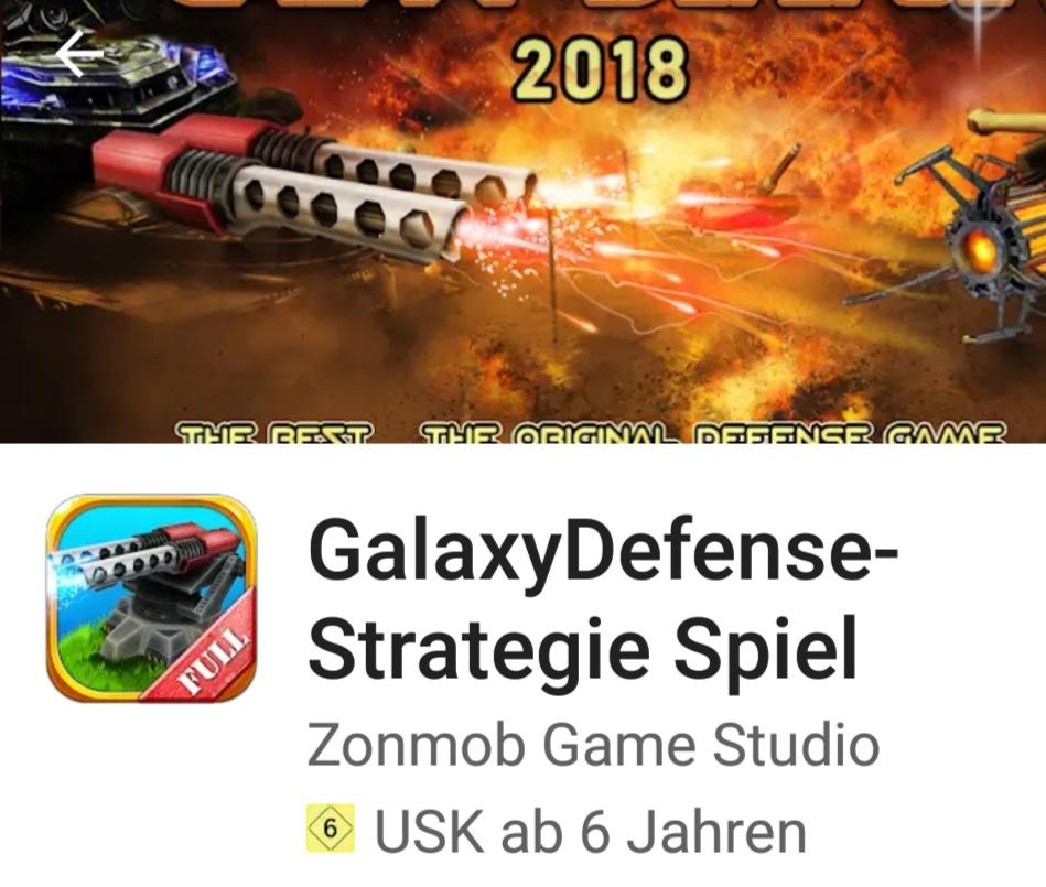 Galaxy Defense * Android *