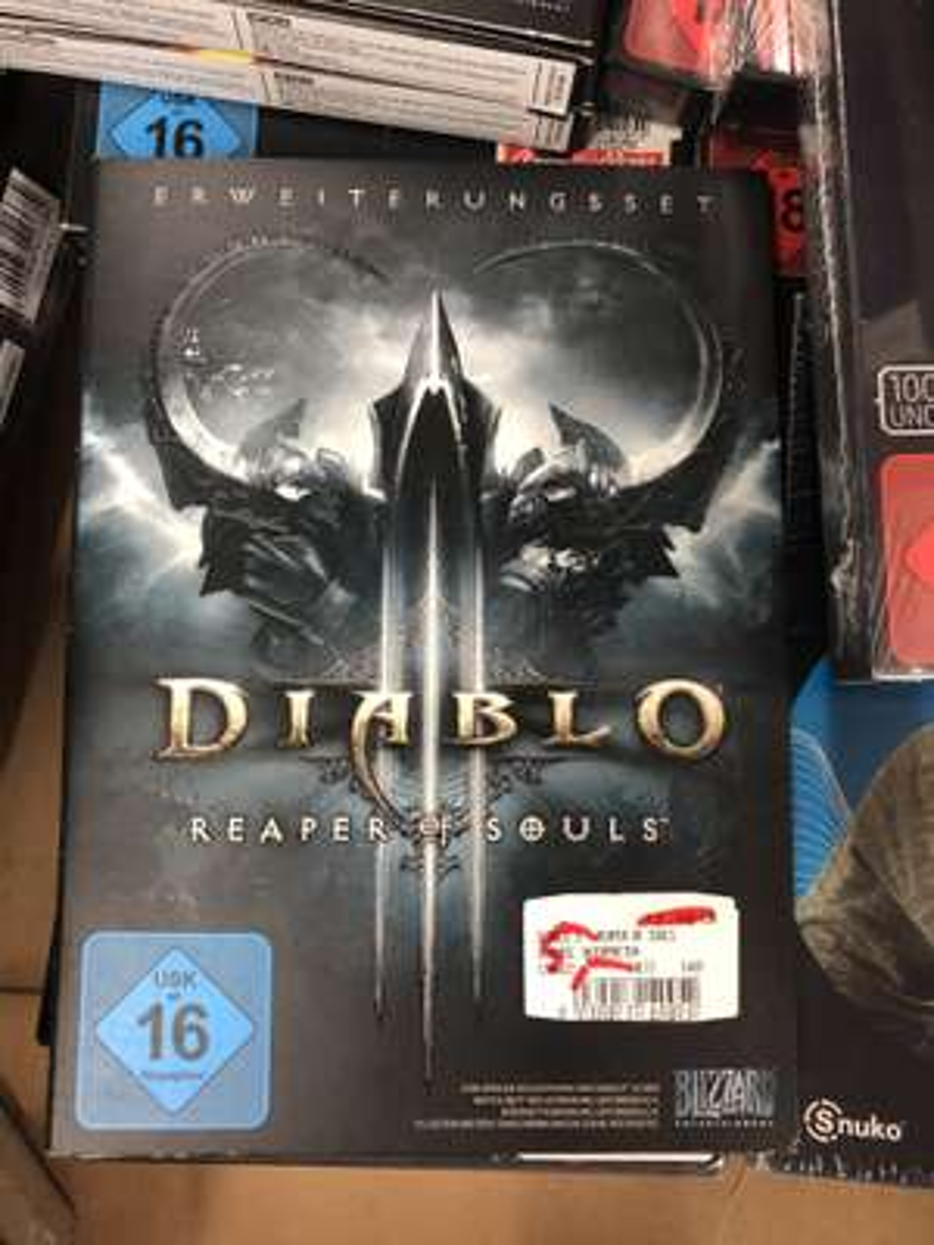 [Lokal] Diablo III: Reaper of Souls PC/Mac (Media Markt Schwäbisch Gmünd)