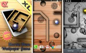 Marble maze wallpaper Game XL * Android *