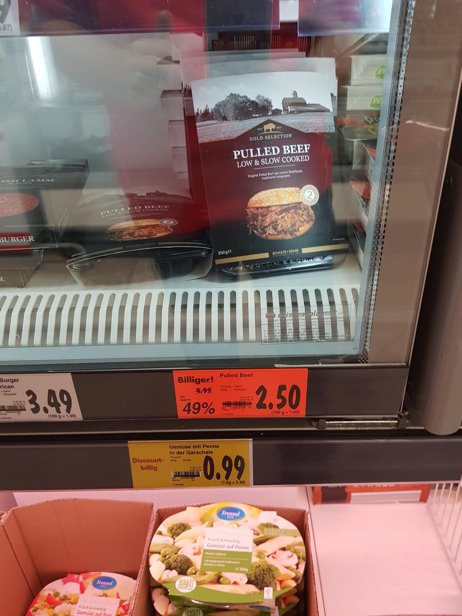 [LOKAL] KAUFLAND Siegen-Fludersbach- 250g Pulled Beef für 2.50€