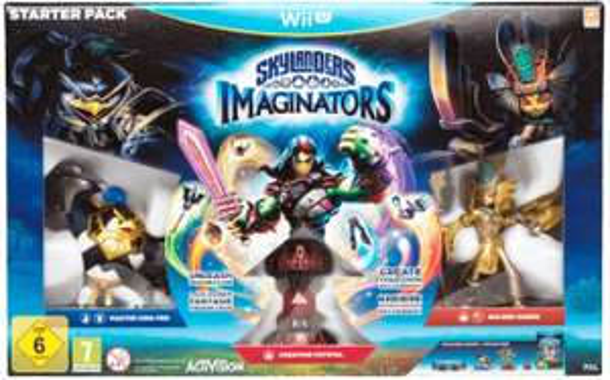 Lokal Saturn Bielefeld Wii U Skylanders Imaginators Starter Pack