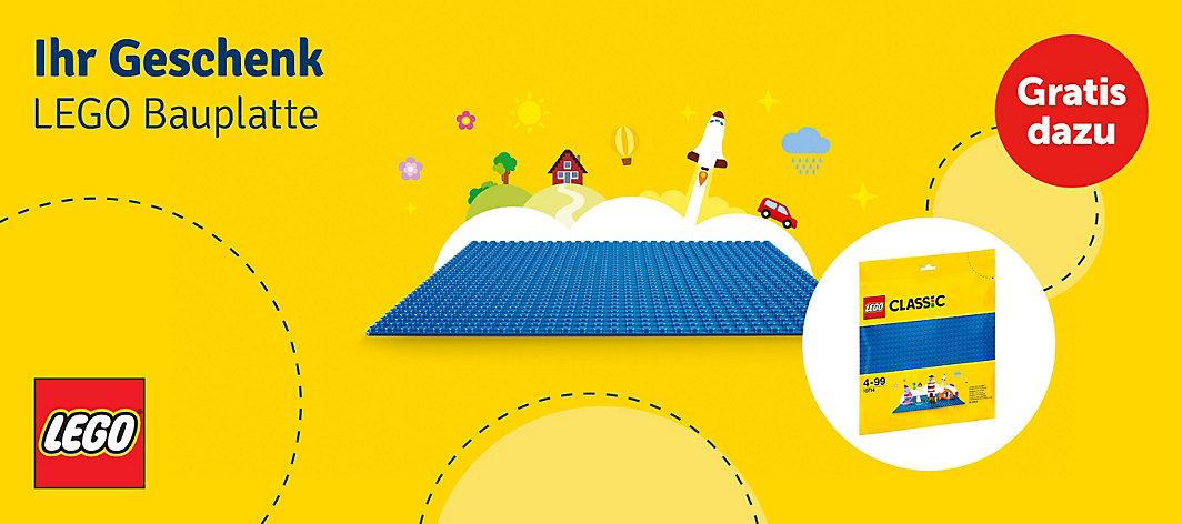 mytoys GRATIS Bauplatte bei LEGO Bestellungen über 29 Euro