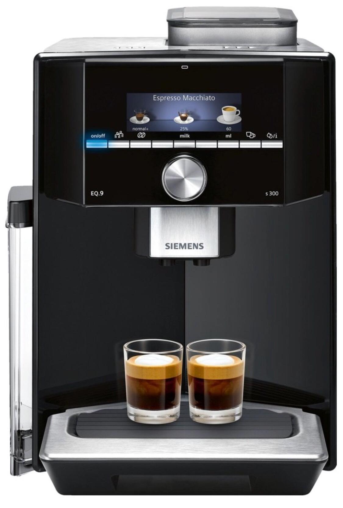 [Lokal Mediamarkt in Oldenburg] Siemens Kaffeevollautomat EQ 9 s300