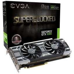 EVGA GeForce GTX 1080 SC Gaming ACX 3.0, 8192 MB GDDR5X