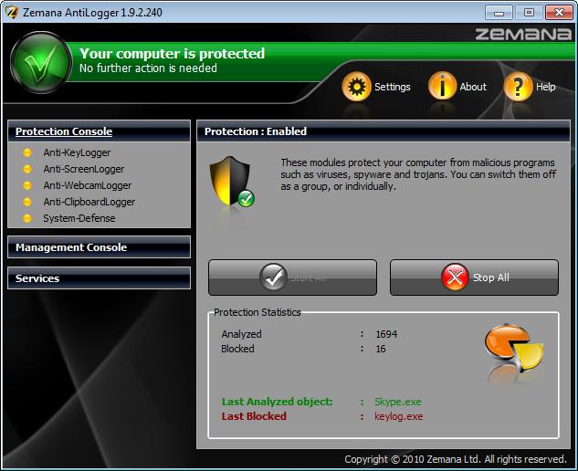 Zemana AntiLogger Premium kostenlos für 1 Jahr