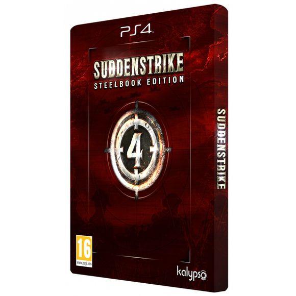 Sudden Strike 4 - Steelbook Edition (PS4) inklusive Versandkosten für 23,50€ (coolshop)